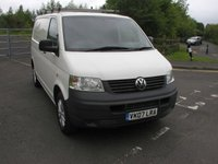 USED 2007 07 VOLKSWAGEN TRANSPORTER 1.9 T26 SWB TDI 1d 83 BHP Tailgate Van - SOLD Tailgate Panel van in white, Alloy Wheels, 106000 miles, Good Service History