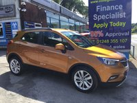 USED 2017 17 VAUXHALL MOKKA X 1.6 ACTIVE S/S 5d 114 BHP, only 18000 miles ***APPROVED DEALER FOR CAR FINANCE247 AND ZUTO  ***
