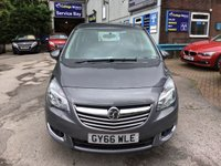 USED 2016 66 VAUXHALL MERIVA 1.6 TECH LINE CDTI ECOFLEX S/S 5d 134 BHP, only 20000 miles ***APPROVED DEALER FOR CAR FINANCE247 AND ZUT0  ***