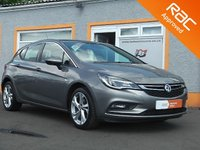 USED 2016 16 VAUXHALL ASTRA 1.4 SRI 5d 99 BHP 1 Owner, 2 Service Stamps, Bluetooth, Cruise Control