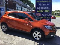 USED 2016 16 VAUXHALL MOKKA 1.6 SE CDTI ECOFLEX S/S 5d 134 BHP, only 17000 miles ***APPROVED DEALER FOR CAR FINANCE247 AND ZUT0  ***