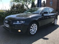 USED 2009 09 AUDI A4 2.0 AVANT TDI SE DPF 5d 141 BHP Great Drive with Cruise Control
