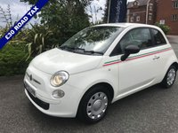 USED 2012 62 FIAT 500 1.2 POP 3d 69 BHP Only £30 Road Tax!!