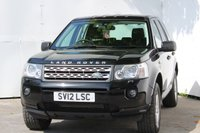 USED 2012 12 LAND ROVER FREELANDER 2.2 TD4 GS 5d AUTO 150 BHP £6999 YES £6999 BE QUICK AT THIS PRICE FOR A 12 PLATE FREELANDER.