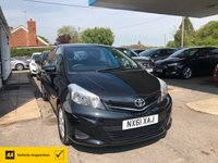 USED 2011 61 TOYOTA YARIS 1.3 VVT-I TR 5d 98 BHP NEED FINANCE? WE CAN HELP!