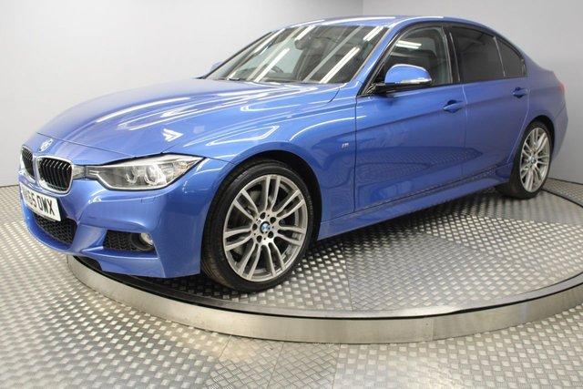 USED 2015 65 BMW 3 SERIES 2.0 320D M SPORT 4d AUTO 181 BHP