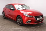 USED 2016 16 MAZDA 3 2.0 SPORT BLACK 5DR 118 BHP SAT NAV REAR CAM £30 12 MONTHS ROAD TAX + HEATED HALF LEATHER SEATS + SATELLITE NAVIGATION + REVERSE CAMERA + PARKING SENSOR + BLUETOOTH + PARKING SENSOR + CRUISE CONTROL + CLIMATE CONTROL + BOSE PREMIUM SPEAKERS + XENON HEADLIGHTS + PRIVACY GLASS + DAB RADIO + ELECTRIC WINDOWS + ELECTRIC MIRRORS + 18 INCH ALLOY WHEELS