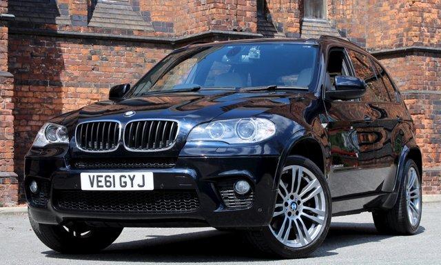 2011 61 BMW X5 3.0 XDRIVE30D M SPORT 5d AUTO 241 BHP