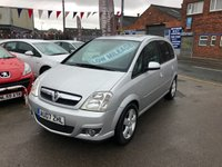 USED 2007 07 VAUXHALL MERIVA 1.4 DESIGN 16V TWINPORT 5d 90 BHP *** ONLY 64,000 MILES ***