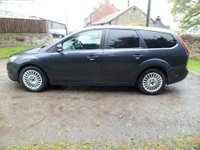 USED 2008 08 FORD FOCUS 1.8 TITANIUM TDCI 5d 115 BHP EXCELLENT FAMILY WORK HORSE. EXCELLENT HISTORY MANY NEW PARTS FITTED. FULL LEATHER. XENON LIGHTS. HEATED SEATS. NEW CLUTCH AND DUAL MASS FLYWHEEL