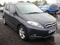 USED 2008 08 HONDA FR-V 2.2 I-CTDI EX 5d 140 BHP Leather - Rear sensors - 6 Seater diesel