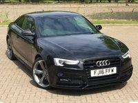 USED 2016 16 AUDI A5 2.0 TDI QUATTRO BLACK EDITION PLUS 3d AUTO 187 BHP