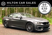2014 BMW 4 SERIES 2.0 420D M SPORT 2d AUTO 181 BHP SOLD