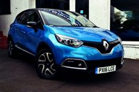 USED 2016 16 RENAULT CAPTUR 1.5 DYNAMIQUE S NAV DCI 5d 90 BHP STUNNING LOW MILEAGE CAPTUR WITH SAT NAV AND NIL ROAD TAX