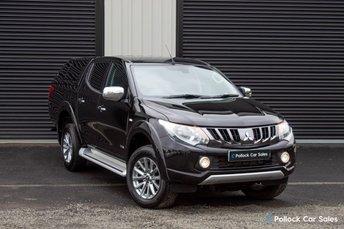 2017 MITSUBISHI L200 Titan 2.4DI-D 178BHP Double Cab, Towbar, Canopy, Full History £15895.00
