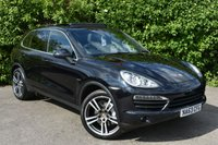 USED 2013 63 PORSCHE CAYENNE 4.1 D V8 S TIPTRONIC S 5d AUTO 382 BHP MASSIVE SPECIFICATION