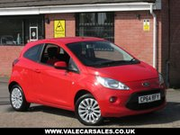USED 2014 64 FORD KA 1.2 ZETEC (BLUETOOTH+FULL SERVICE HISTORY) 3dr FULL SERVICE HISTORY / £30 A YEAR TAX