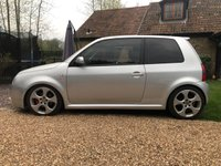 USED 2003 03 VOLKSWAGEN LUPO 1.6 GTI 3d 125 BHP 6 SPEED, LEATHER, SHOW CAR