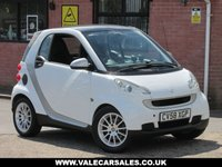 USED 2008 58 SMART FORTWO 1.0 PASSION MHD AUTO 2dr FULL SERVICE HISTORY / 10 STAMPS / £20 TAX