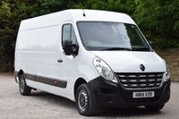 USED 2014 14 RENAULT MASTER 2.3 LM35 DCI S/R  125 BHP