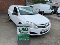 2011 VAUXHALL ASTRA 1.7 CDTI CLUB 100 BHP NO VAT TO PAY ON THIS VAN 3 MONTHS WARRANTY  £3795.00