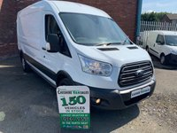 2016 FORD TRANSIT 2.2 350 TREND SHR 124 BHP 1 OWNER AIR CON FULL SERVICE HISTORY  £9495.00