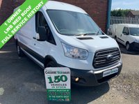 USED 2016 16 FORD TRANSIT 2.2 350 TREND SHR 124 BHP 1 OWNER AIR CON FULL SERVICE HISTORY  1 OWNER AIR CON FULL SERVICE HISTORY