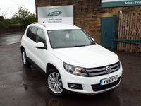 USED 2016 16 VOLKSWAGEN TIGUAN 2.0 MATCH EDITION TDI BMT 5d 148 BHP VW Service History One Registered Keeper