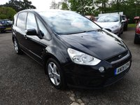USED 2008 08 FORD S-MAX 2.0L TITANIUM TDCI 5d 143 BHP Superb 7 seater family car - Great value!
