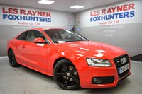 USED 2011 61 AUDI A5 2.0 TDI BLACK EDITION 2d 168 BHP Park sensors, 19in alloys, bluetooth, full leather