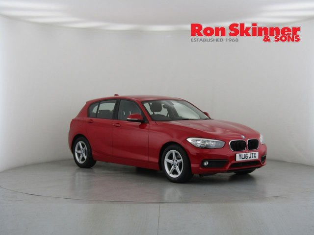 View our 2016 16 BMW 1 SERIES 1.5 116D ED PLUS 5d 114 BHP