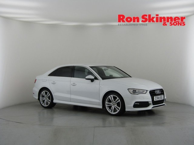 View our 2014 14 AUDI A3 2.0 TDI S LINE 4d AUTO 148 BHP