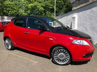 USED 2013 13 CHRYSLER YPSILON 0.9 BLACK AND RED TWINAIR 5d 85 BHP