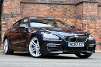 USED 2013 63 BMW 6 SERIES 3.0 640d M Sport Gran Coupe 4dr PANROOF-HUD-SURROUND VIEW 20'S