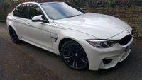 2016 BMW M3 3.0 M3 4d AUTO 426 BHP £35000.00