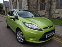 2009 FORD FIESTA 1.2 STYLE PLUS 3d 81 BHP £2995.00