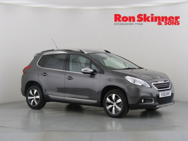 View our 2016 16 PEUGEOT 2008 1.6 BLUE HDI S/S ALLURE 5d 100 BHP