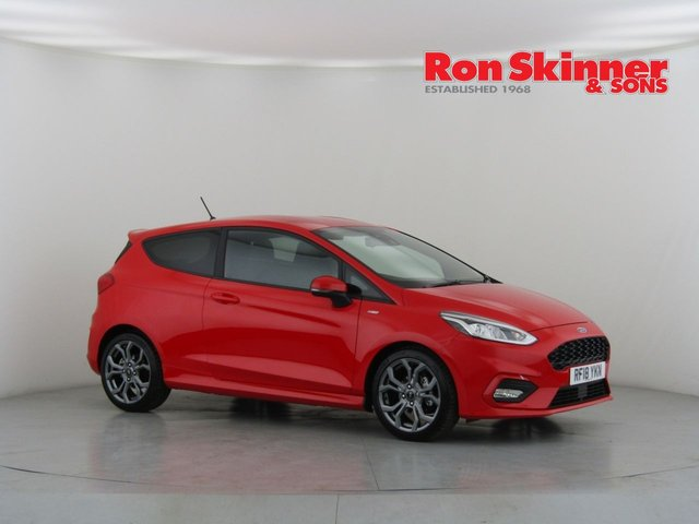 View our 2018 18 FORD FIESTA 1.0 ST-LINE 3d 99 BHP