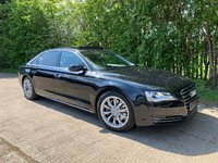 2011 AUDI A8 3.0 TDI QUATTRO SE EXECUTIVE LWB 4d AUTO 246 BHP LWB (Rear Entertainment) £18995.00