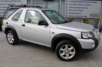 2005 LAND ROVER FREELANDER 1.8 XEI 3d 116 BHP £SOLD