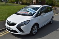 2015 VAUXHALL ZAFIRA TOURER 2.0 EXCLUSIV CDTI 5d AUTO 162 BHP £8499.00