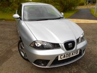 USED 2008 08 SEAT IBIZA 1.4 SPORTRIDER 3d 99 BHP ** ONE PREVIOUS OWNER , YES ONLY 77K, OUTSTANDING VEHICLE THROUGHOUT **