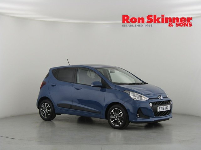 View our 2018 18 HYUNDAI I10 1.0 PREMIUM 5d 65 BHP