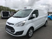 2017 FORD TRANSIT CUSTOM 290 LIMITED 2.0 TDCi 130 L2 H1 LWB £13495.00