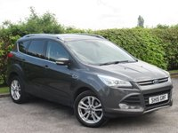 USED 2015 15 FORD KUGA 2.0 TITANIUM X SPORT TDCI 5d * 128 POINT AA INSPECTED * 6 SPEED DIESEL * FULL LEATHER INTERIOR *