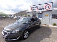 USED 2015 65 VAUXHALL INSIGNIA 1.6 ELITE NAV CDTI ECOFLEX S/S 5 DOOR 134 BHP £44 PER WEEK, NO DEPOSIT - SEE FINANCE LINK