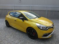 2013 RENAULT CLIO 1.6 RENAULTSPORT LUX 5d AUTO rs  200 BHP £10795.00