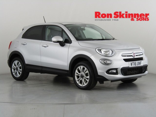 View our 2016 16 FIAT 500X 1.4 MULTIAIR POP STAR DDCT 5d AUTO 140 BHP