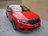 USED 2014 64 SKODA OCTAVIA 2.0 VRS TDI CR DSG 5d AUTO 181 BHP 1 PREV OWNER NICE IN RED
