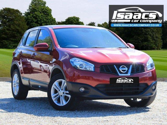 2012 62 NISSAN QASHQAI 1.6 ACENTA 5d AUTO 117 BHP